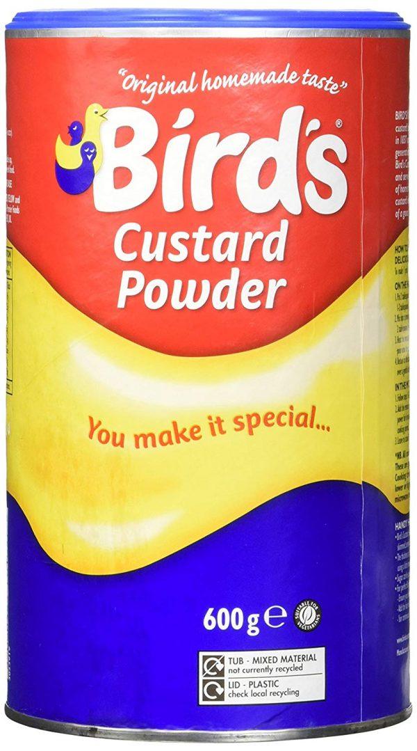 Bird's Custard Powder (600g) Cannister
