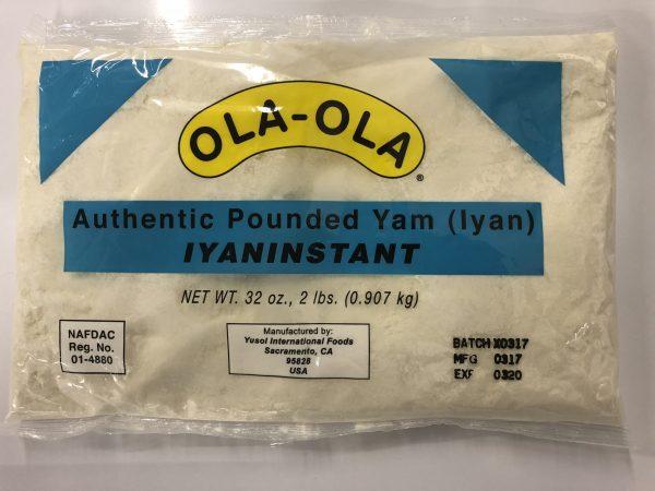 Ola Ola - Pounded Yam 2 lb