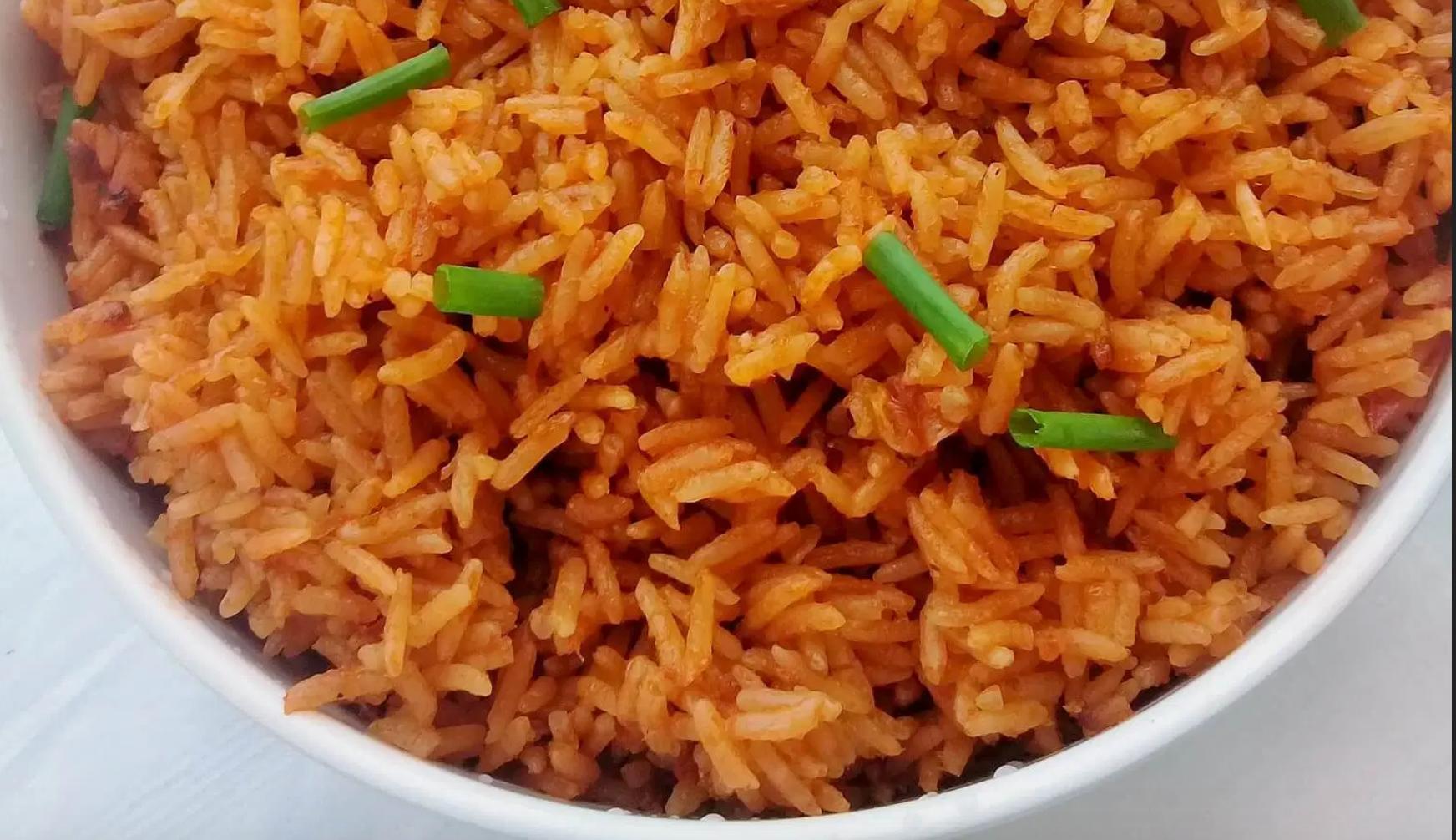Coconut Jollof Rice
